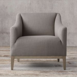 Barros Slime Arm Chair teak grey, 76W x 82D x 78H cm