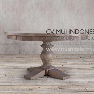 Bubutan Leg Round Table, Dia 140 x 75H cm