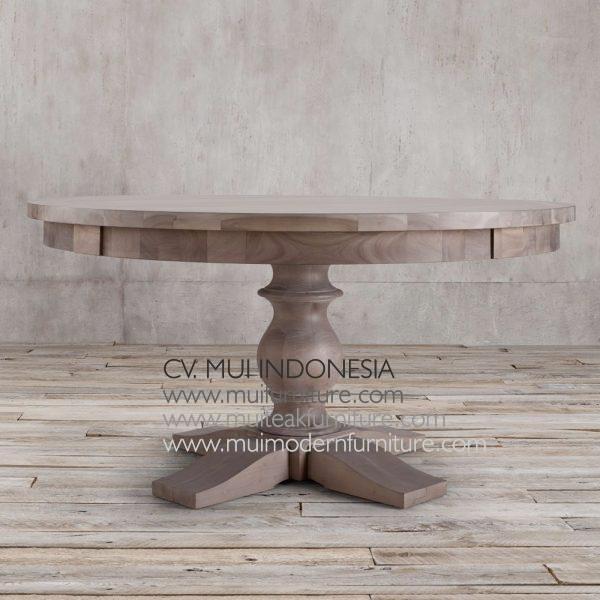 Bubutan Leg Round Table, Dia 140 x 75H cm