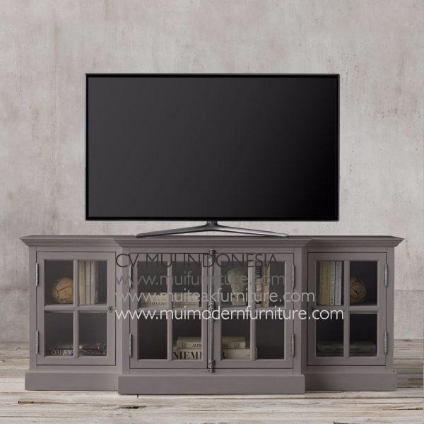 Credenza French tv console-grey