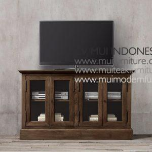 Credenza Teak French small-dark brown