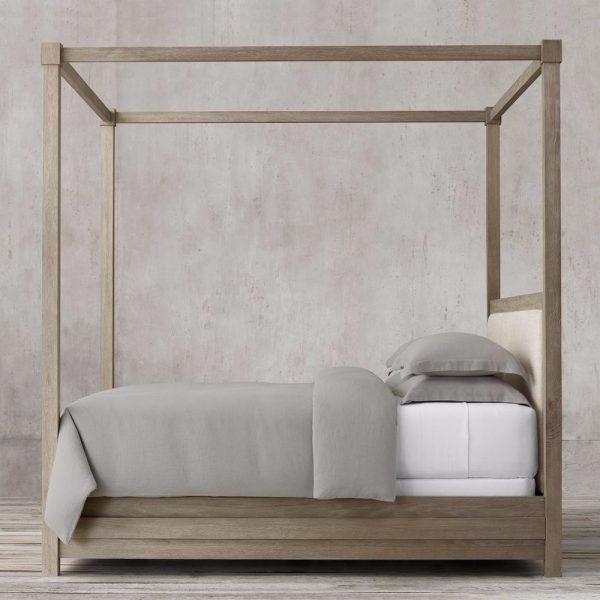 Cuba teak Bed Queen, 160W x 200D cm