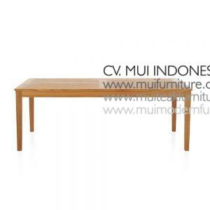 Extention Dining Teak Table Natural
