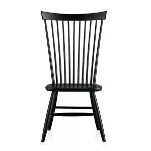 Highback Nakshima Teak Chair, 58W x 54D x 104H cm
