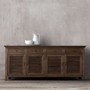 Kare Sideboard 4Door-dark brown