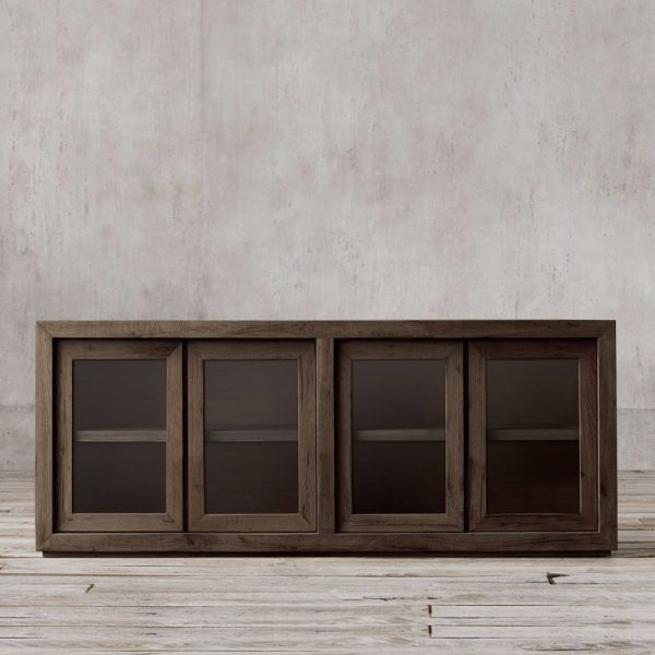 Kotak Sideboard French 4Door Wide, 180W x 45D x 80H cm
