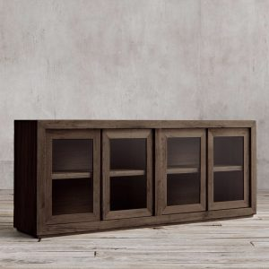 Kotak Sideboard French 4Door Wide, 180W x 45D x 80H cm
