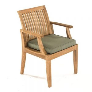 Lagone Dining Arm Chair, 56W x 58D x 89H cm