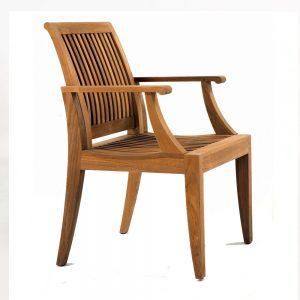Lagone Dining Arm Chair, 56W x 58D x 89H cm
