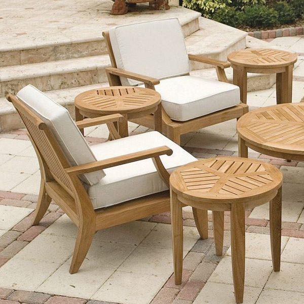 Lagone Teak Lounge Chair Chair, 76W x 76D x 83H cm