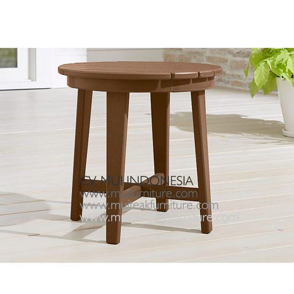Lika End Table Teak, 60W x 50D x 48H cm