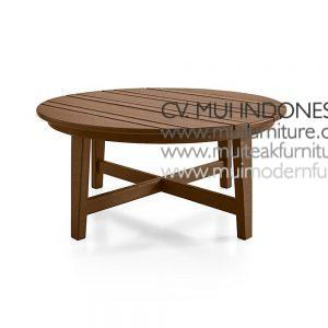 Lika Round Table Low, 90W x 90D x 38Hc m