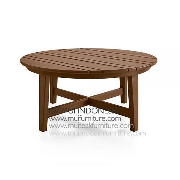 Lika Round Table Low, 90W x 90D x 38Hc m