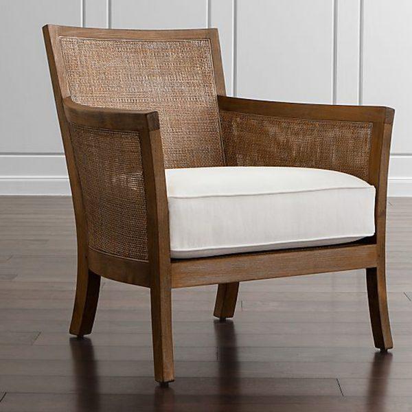 Lope Arm Chair Rattan Teak, 76W x 76D x 86H cm