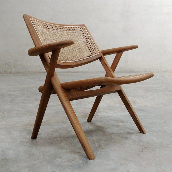 Munga Arm Chair, 72W x 63D x 73H cm
