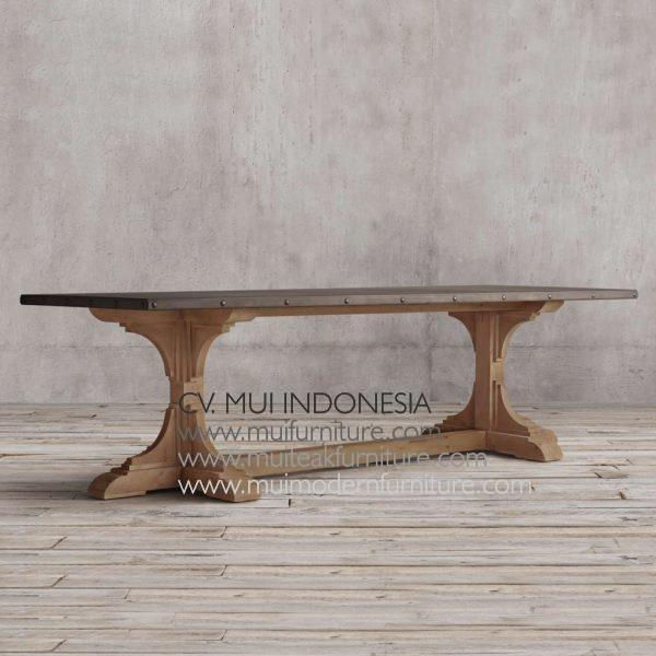 Nest Rectangular Teak Table