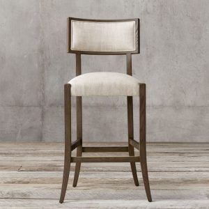 Noni Teak Bar Chair, 58W x 60D x 118H cm