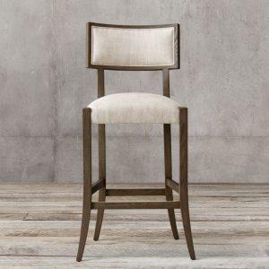 Noni Teak Bar Chair, 58W x 60D x 118H cm