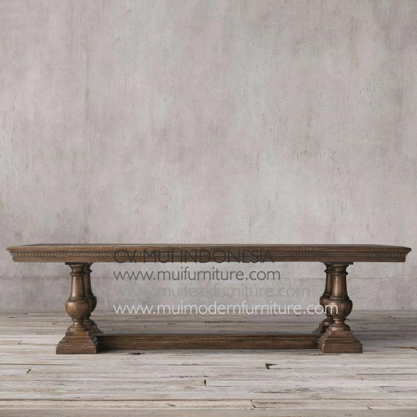 Poster Dining Table Teak