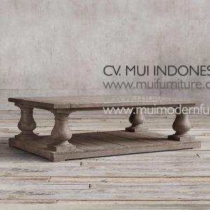 Reclaimed Bubutan Leg Coffee Table Teak, 140W x 70D x 42H cm