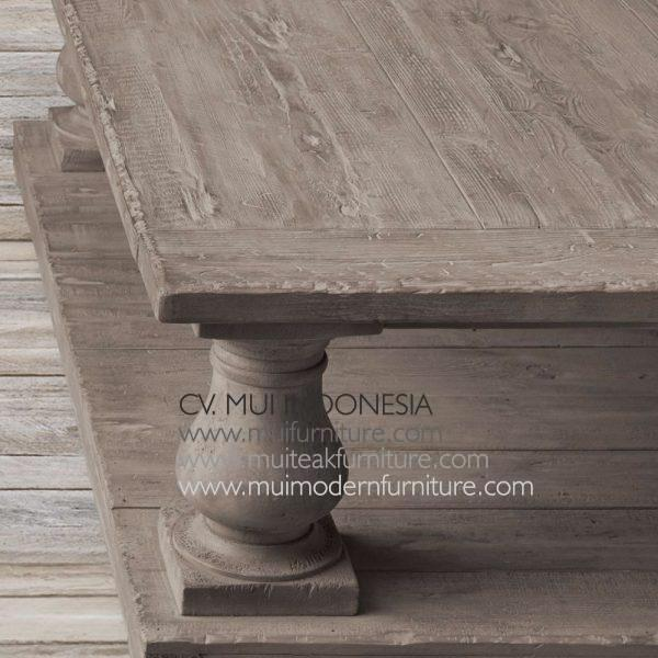 Reclaimed Bubutan Leg Coffee Table Teak
