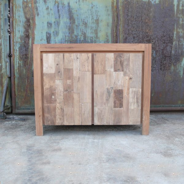 Reclaimed Teak Mozaik Color