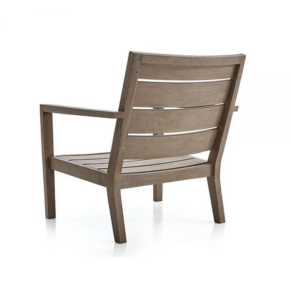 Regina Lounge Grey Teak Chair