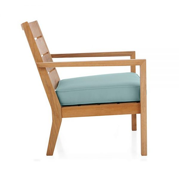 Regina Lounge Natural Teak Chair