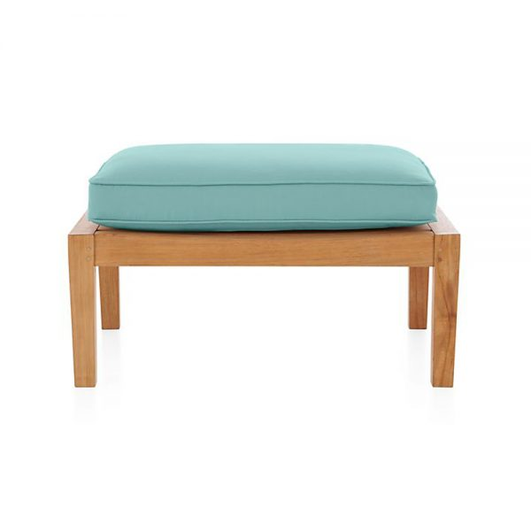 Regina Lounge Stool Natural Teak