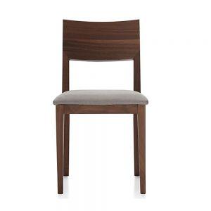 Slime Teak dining Chair, 45W x 48D x 81H cm