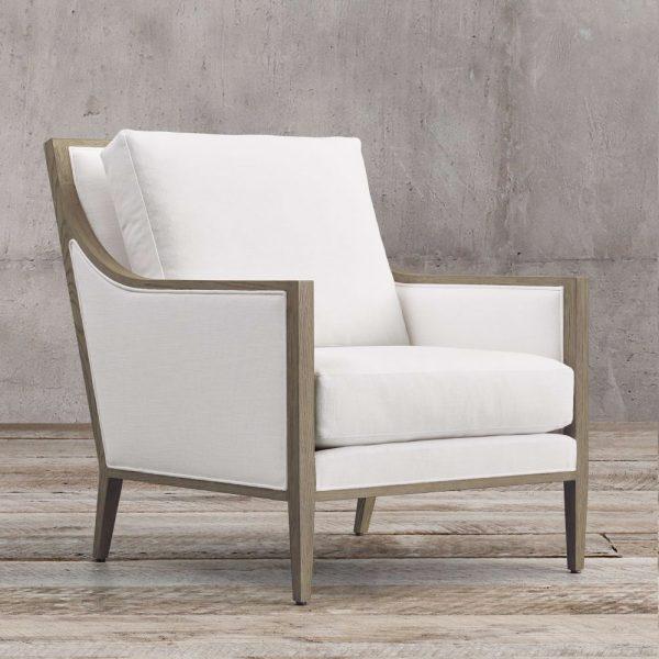 Slipe French Teak Chair, 72W x 90D x 92H cm