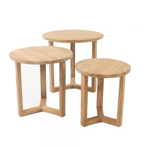 Tripod Side Table Round