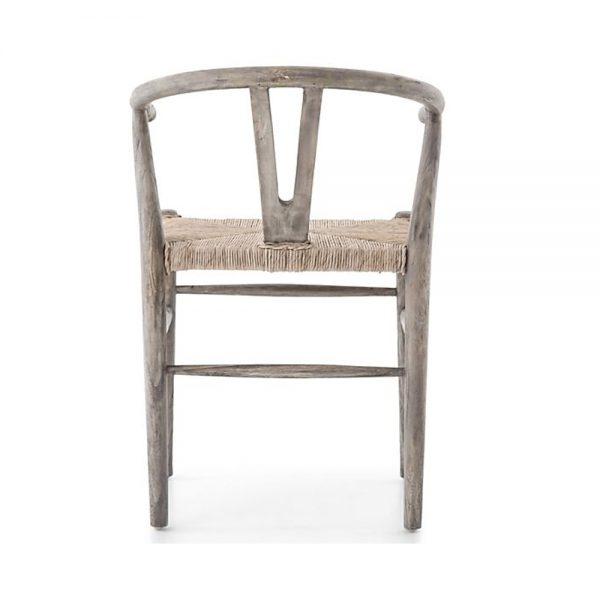 V Back Dining Chair, 56W x 57D x 99H cm