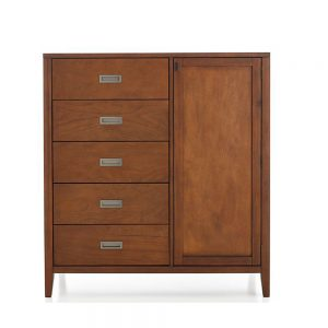 Villa Armoire with Drawer, 110W x 50D x 150H cm