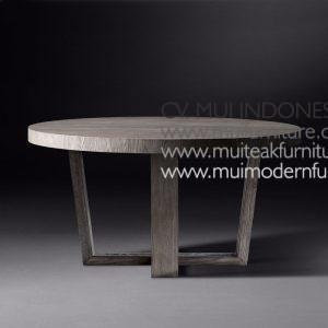 Wina Round Teak Table, Dia120 x 75cm