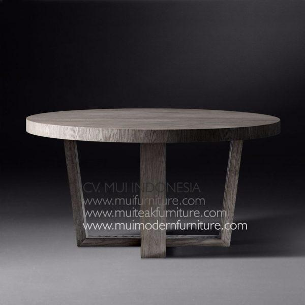 Wina Round Teak Table, Dia120 x 75cm