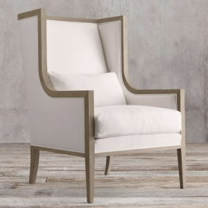 Wing Arm Chair Teak, 72W x 80D x 110H cm